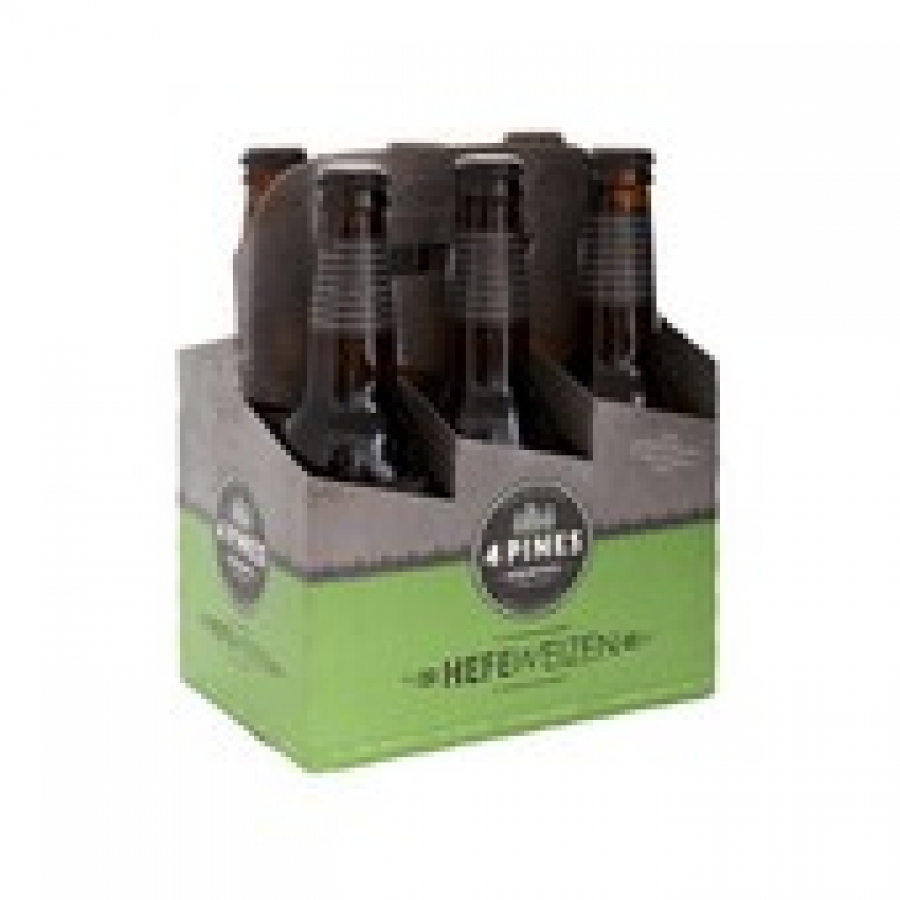 4 Pines Brewing Pale Ale 330mL Bottles 6 pack