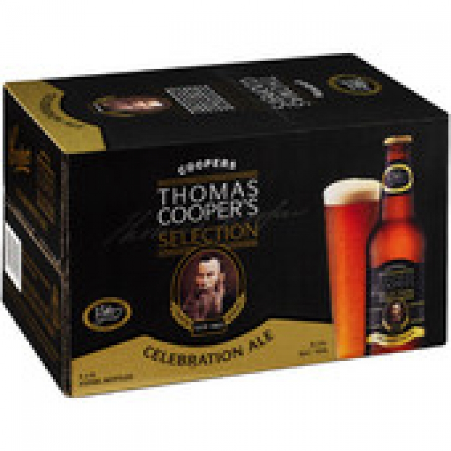 Coopers Celebration Ale 355mL Bottles 1 carton