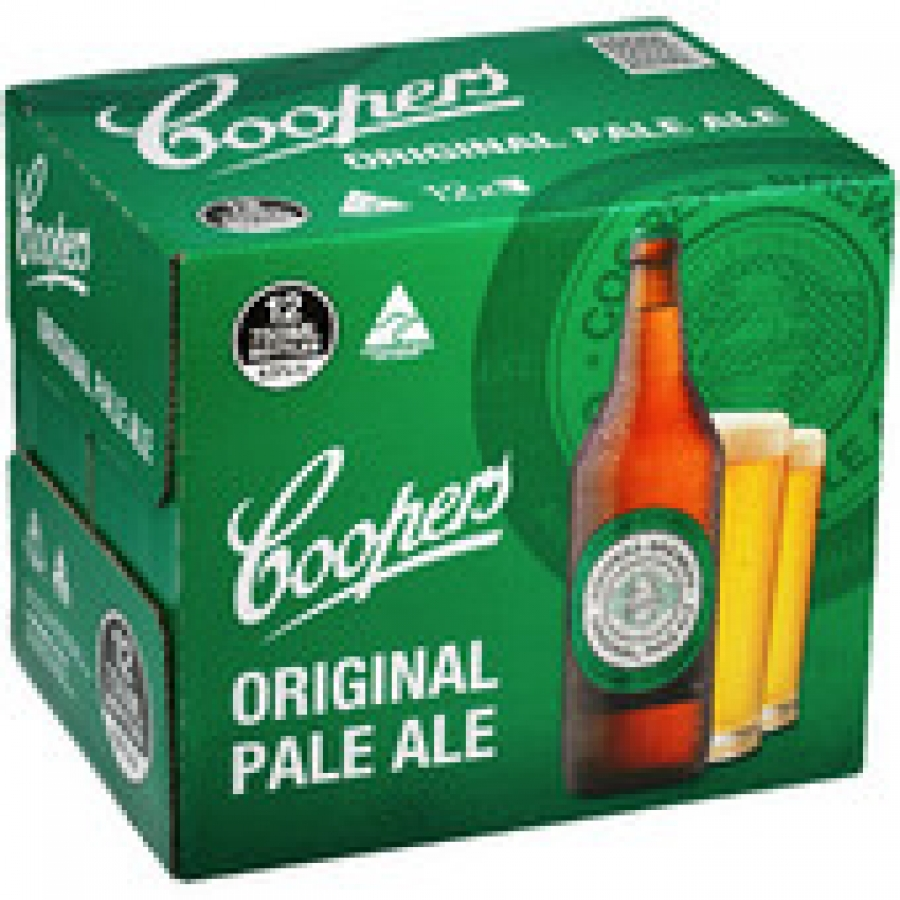 Coopers Original Pale Ale 750mL Bottle 12 pack