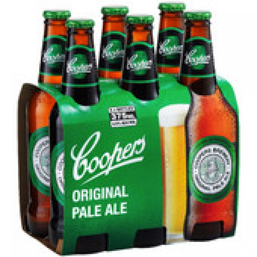 Coopers Pale Ale 375mL Bottles 6 pack