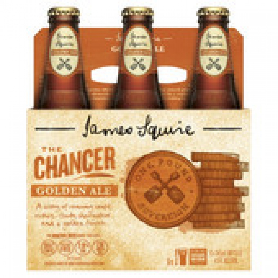 James Squire The Chancer Golden Ale 345mL Bottles 6 pack