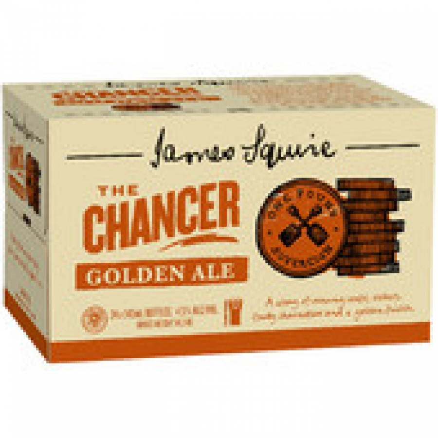 James Squire The Chancer Golden Ale 345mL Bottles 24 pack