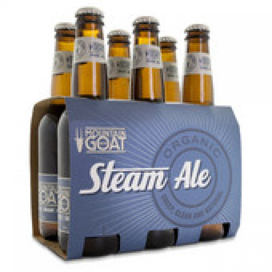 Mountain Goat Steam Ale 330mL Bottle 6 pack