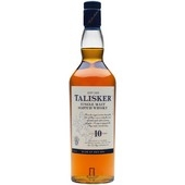 Talisker Malt Whisky 10 Year Old 700mL